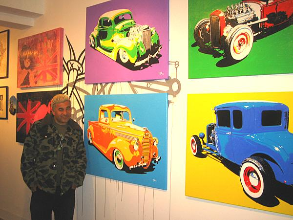Art with cars